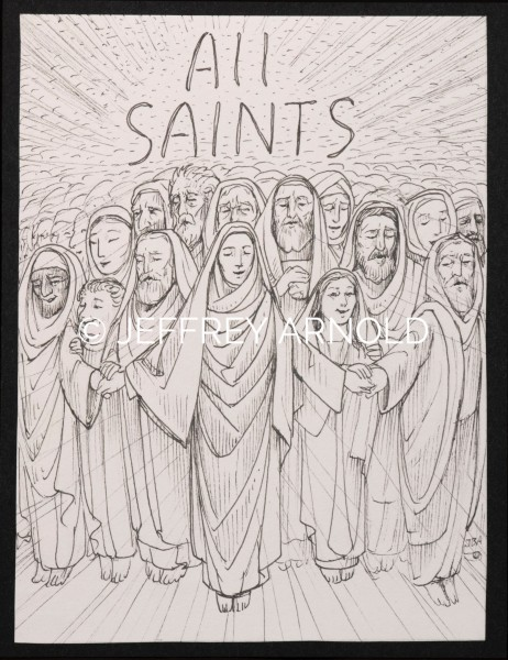 All Saints | Pen and Ink Illustration