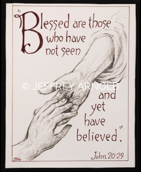 Blessed are Those | Pen and Ink Illustration