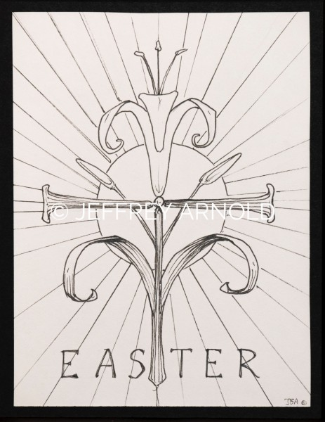 Easter | Pen and Ink Illustration