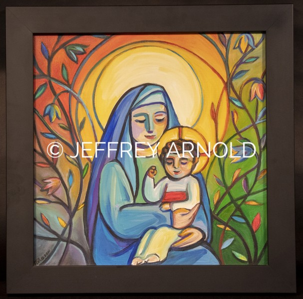 Madonna & Child | Acrylic Painting