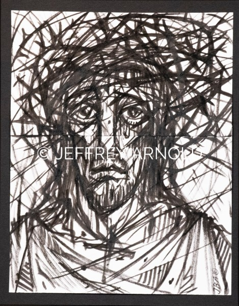 Man of Sorrows   Pen and Ink Illustrations