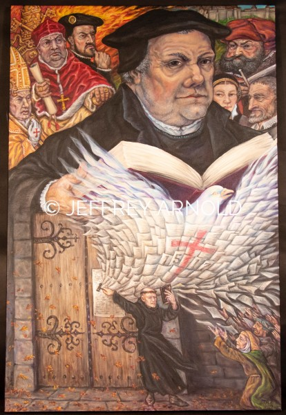 Martin Luther and the Reformation | Acrylic Painting