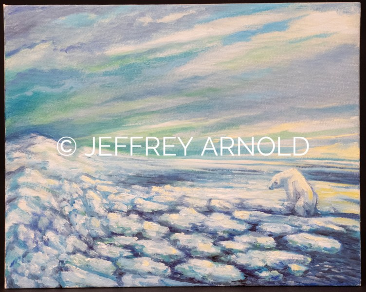 Polar Ice | Oil Painting
