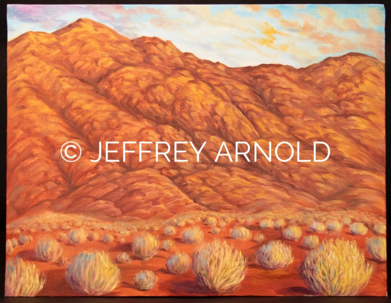 Red Rock | Oil Painting