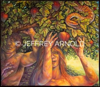 Adam and Eve | Oil Painting