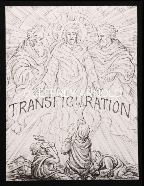Transfiguration | Pen and Ink Illustration