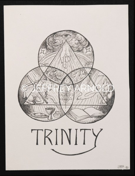 Trinity | Pen and Ink Illustration