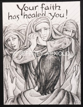 Your Faith | Pen and Ink Illustration
